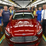 Ford Flat Rock Assembly Plant - Fusion Production Begins 2
