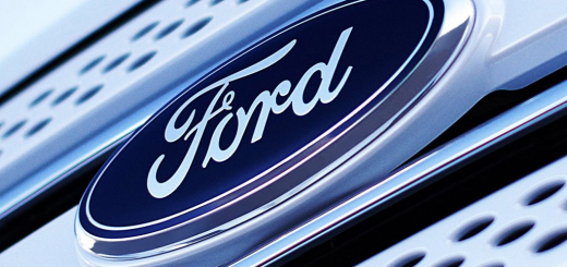 Ford Logo front and center