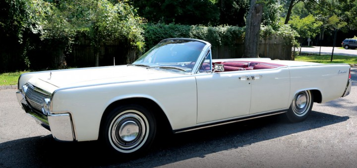 1963 Lincoln Continental convertible - JFK 01