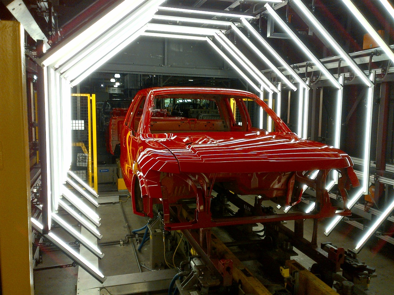 How Ford S Innovative Paint Process Improves Paint Quality