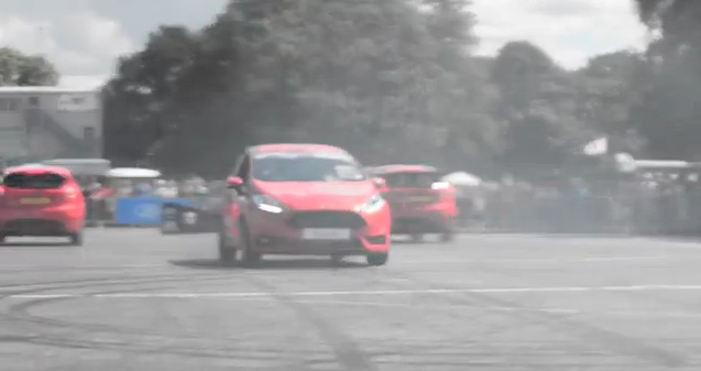 Ford Fiesta ST and Mustang - Paul Swift