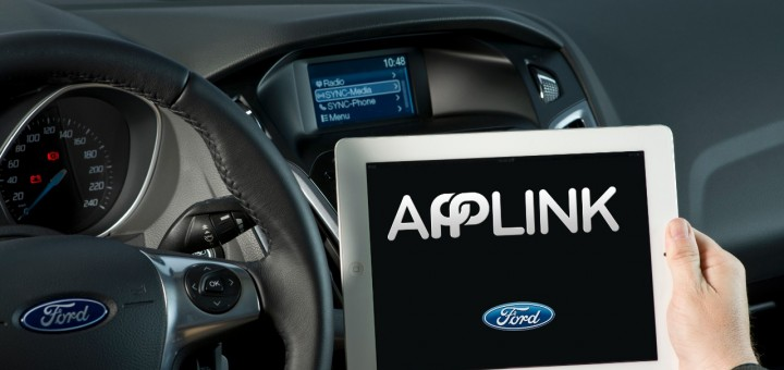 Ford SYNC AppLink iPad