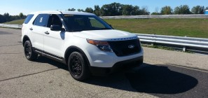 Michigan State Police Ford Police Interceptor Utility Explorer Testing 2013