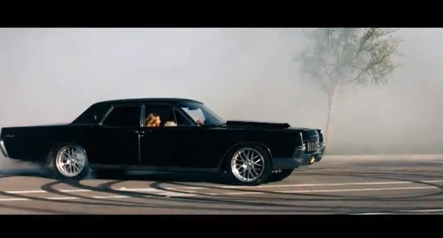 hit and run movie the awesome 1967 lincoln continental. Black Bedroom Furniture Sets. Home Design Ideas