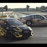 2013 Ford Cobra Jet vs Ford Fiesta ST Rallycross - Drag Race 2