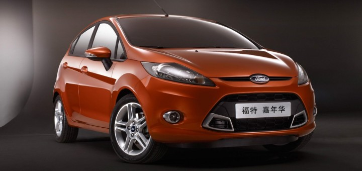2013 Ford Fiest hatchback - China