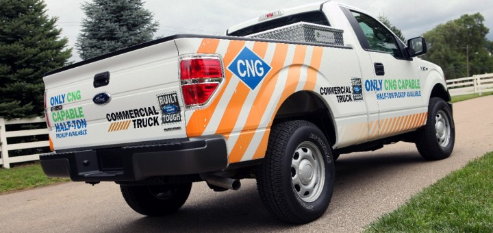 2014 Ford F-150 CNG rear