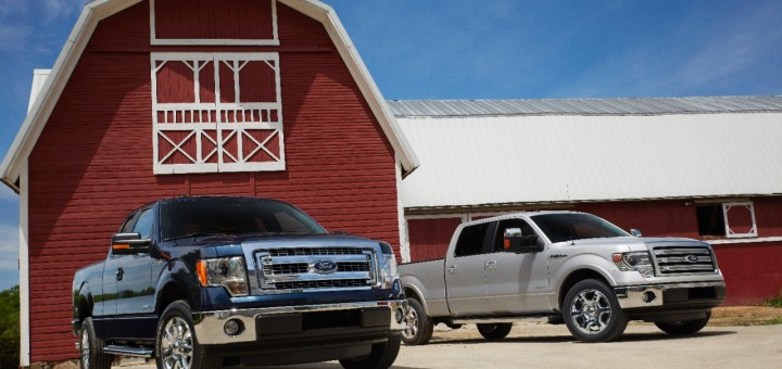 2014 Ford F-150 XLT and F-150 Lariat