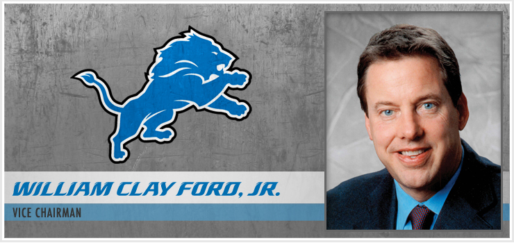 Detroit Lions - William Clay Ford Jr