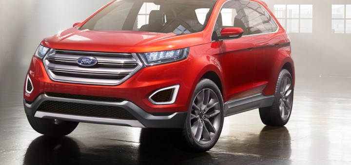 Ford Edge Concept Hero Shot