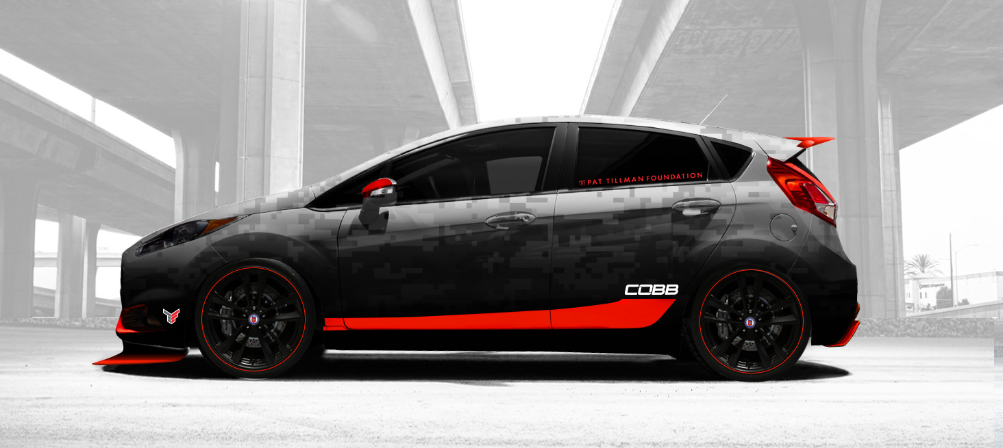 Cobb Tuning Tanner Foust Racing Fiesta St Salutes U S