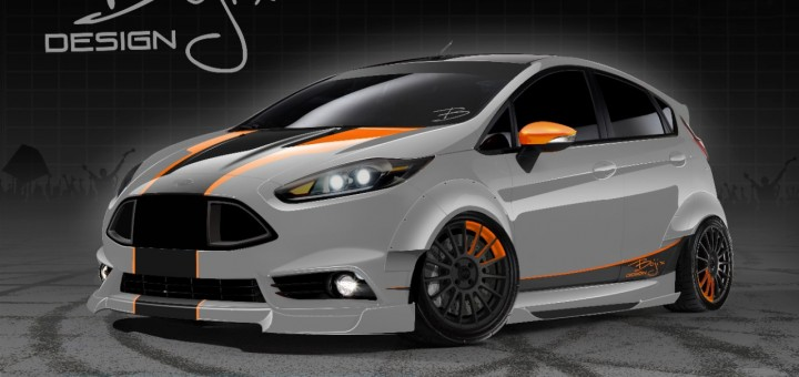 SEMA 2013 - 2014 Ford Fiesta ST by Bojix Design