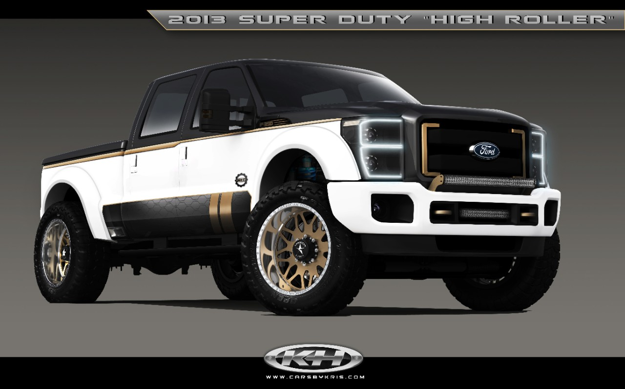 F-350 Super Duty High Roller by Cars by Chris Debuts At SEMA