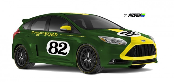 SEMA 2013 - Ford Focus ST by Green Filter