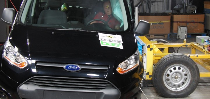2014 Ford Tourneo Connect - Euro NCAP Crash