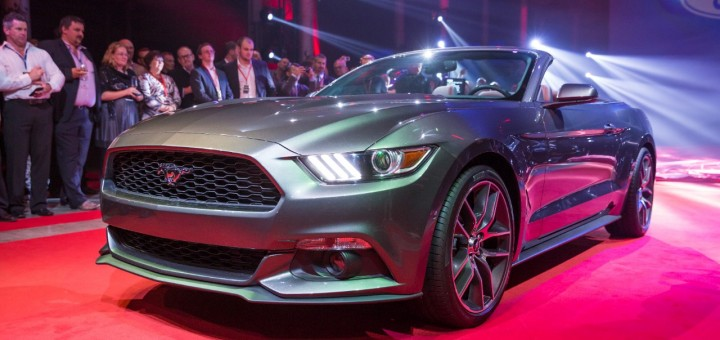 2015 Ford Mustang Convertible - Sydney Reveal 6