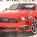 2015 Ford Mustang Leaked 1