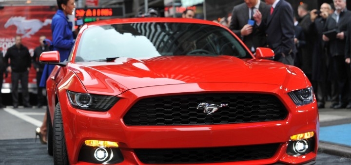 2015 Ford Mustang Live Unveil 2