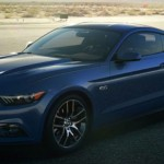 2015 Ford Mustang color - Deep Impact Blue