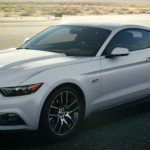 2015 Ford Mustang color - Oxford White