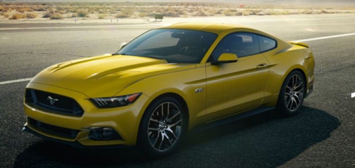 2015 Ford Mustang color - Triple Yellow