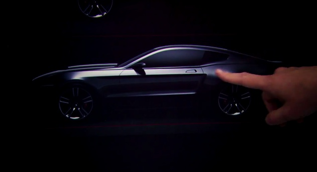 2015 Mustang's daylight opening design
