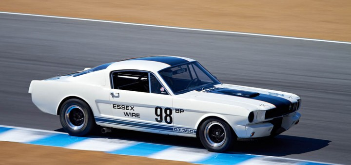 Classic Shelby GT350 white