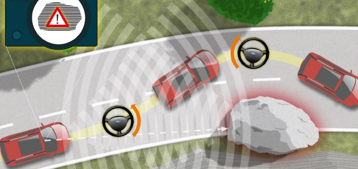 Ford Obstacle Avoidance Demonstration Successful In North
