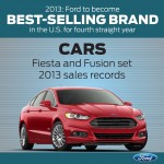Ford Best Selling Brand in US 2013 cars
