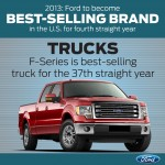 Ford Best Selling Brand in US 2013 trucks