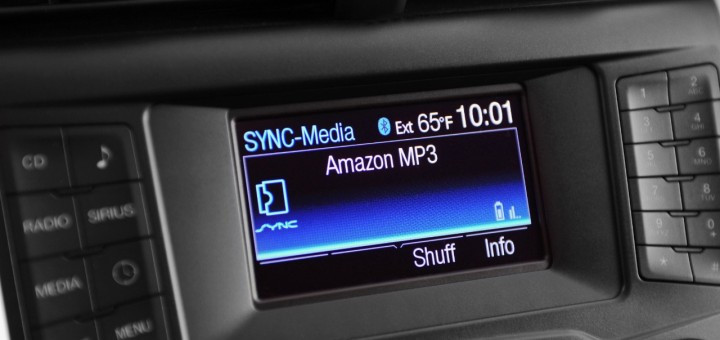 Ford SYNC - Amazon Cloud Player integratino