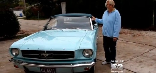 Gail Wise - the first 1964.5 Mustang owner