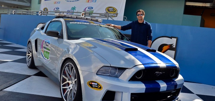 Need for Speed Ford Mustang and Ramon Rodriguez - Victory Lane Homestead Miami 1