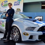 Need for Speed Ford Mustang and Ramon Rodriguez - Victory Lane Homestead Miami 2