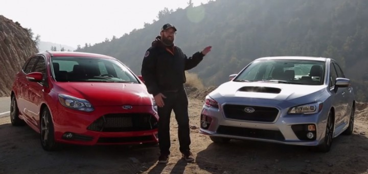 2014 Ford Focus ST vs 2014 Subaru WRX