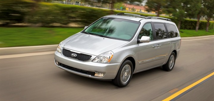 Current 2014 Kia Sedona