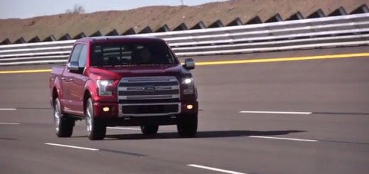2015 Ford F-150 Driving At Proving Ground