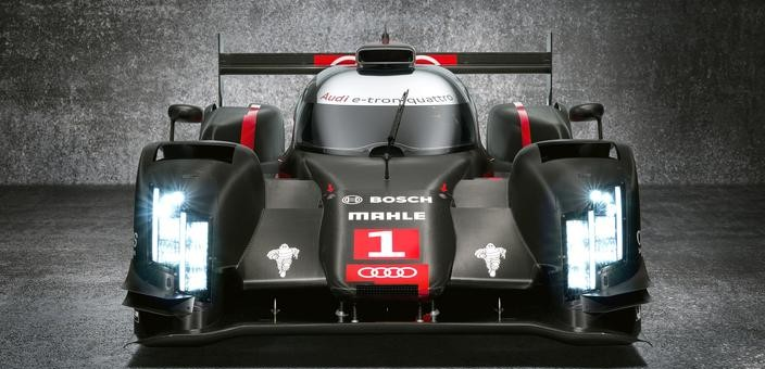 Audi R18 e-tron quattro race car - LED Laser Lighting 1