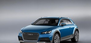 Audi allroad shooting brake show car 1