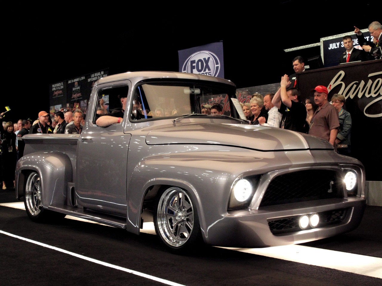 1956 F 100 By Snannon Tweed Gene Simmons Sells For 450k
