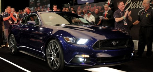 Barrett-Jackson Scottsdale 2014 Auction - 2015 Ford Mustang 1