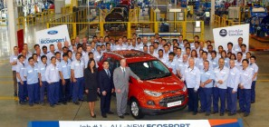 Ford EcoSport Job 1 Ford Thailand Manufacturing (FTM)