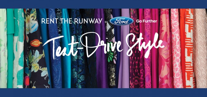 Ford and Rent the Runway Hero Shot