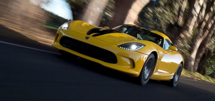 SRT Viper Yellow