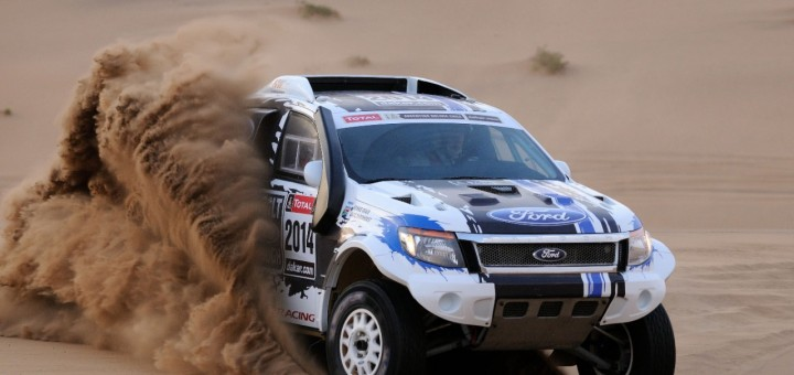 Team Ford Racing Ranger Dakar 2014 1