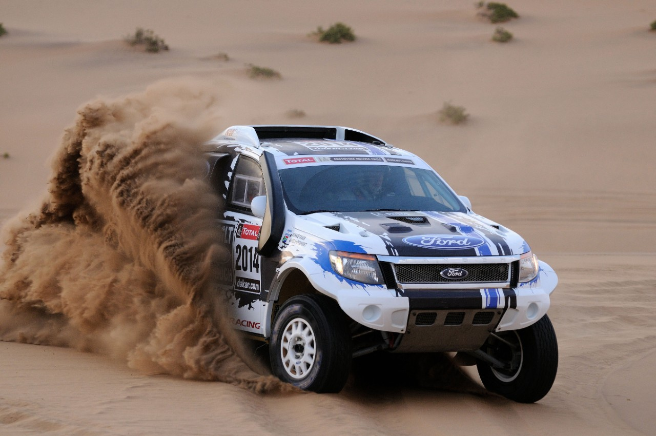ford makes dakar rally debut with two ranger pick ups. Black Bedroom Furniture Sets. Home Design Ideas
