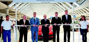 July 15, 2011: Volkswagen Starts Beetle Production in Puebla Mexico