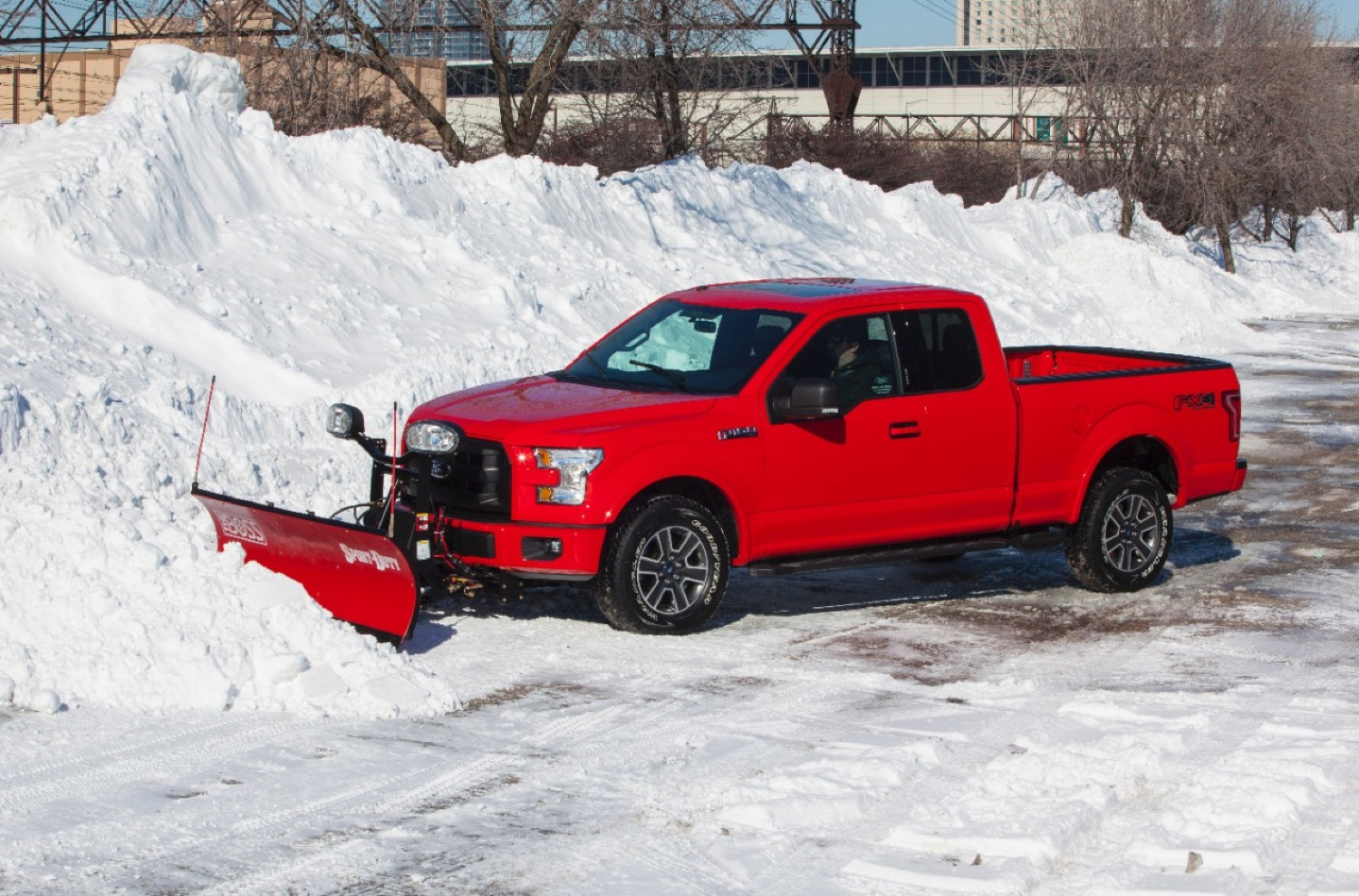 2015 Ford F 150 Looks Great With A Snow Plow