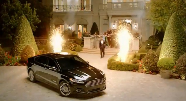 Ford Nearly Double ad - 2014 Super Bowl - Fusion Hybrid 1