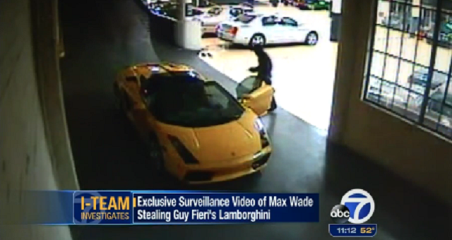 Guy Fieri S Lamborghini Stolen By San Francisco Teen